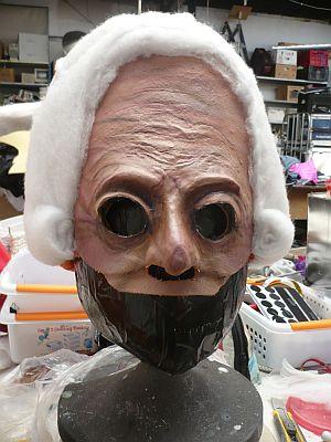 Opbouw masker rechter